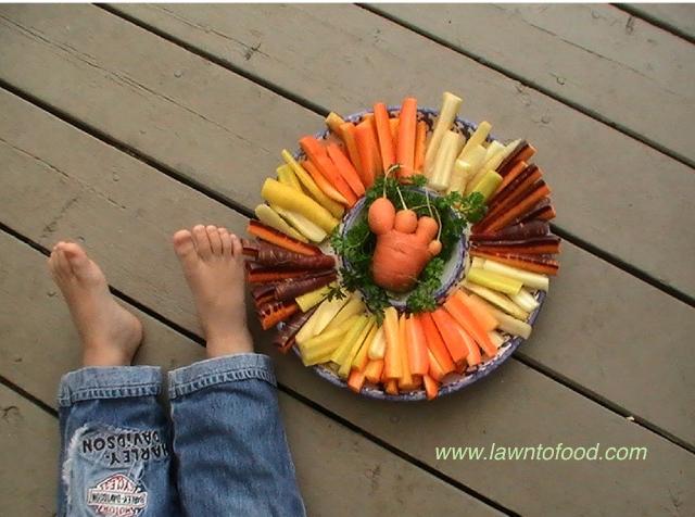 Carrots & toes