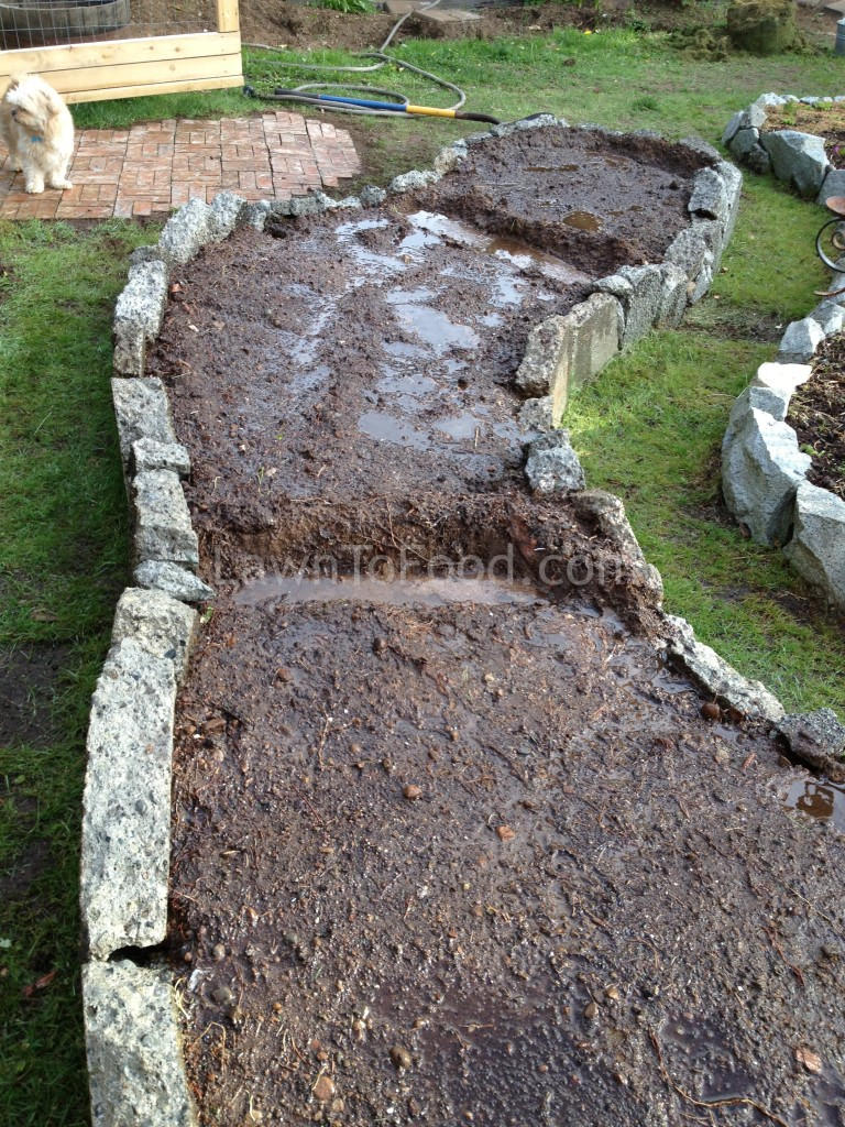 Small Scale Garden Swale Lawn To Food