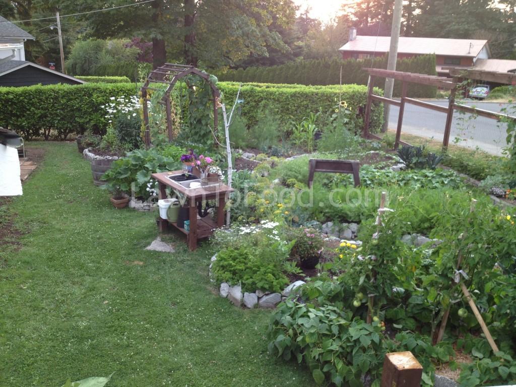 garden tour overhead