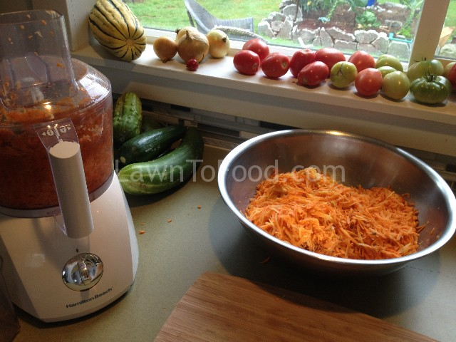 carrot grated