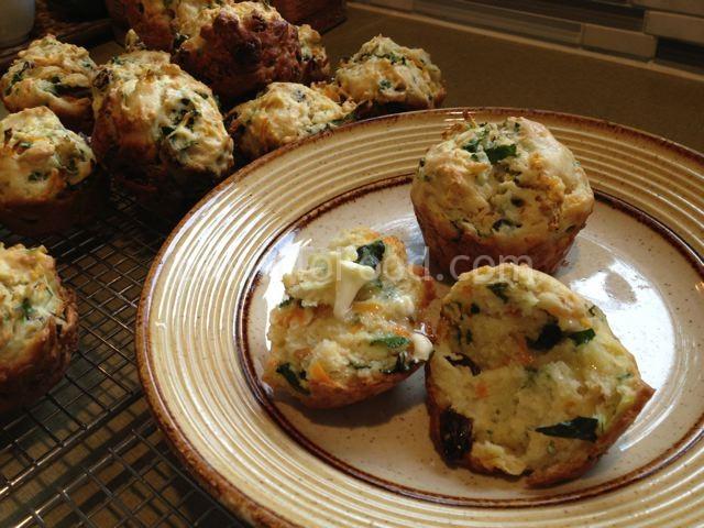 muffins butter