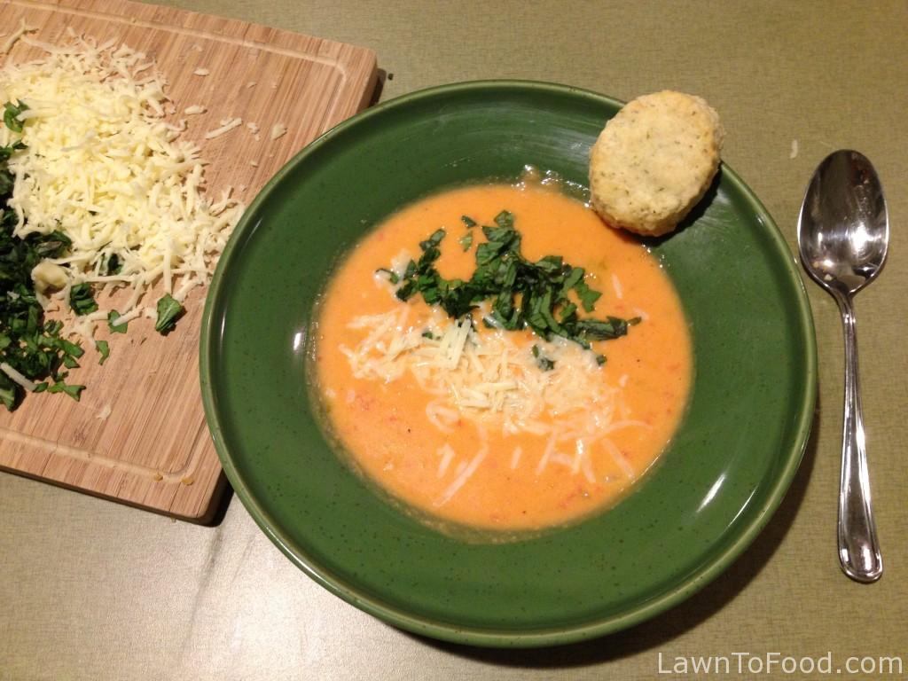 soup tomato finish